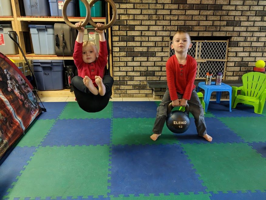 Training with Toddlers