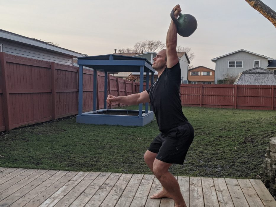 How To Do A One Arm Jerk