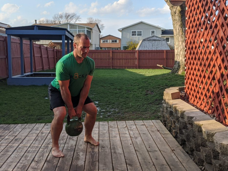 How To Do A Kettlebell Squat Jump