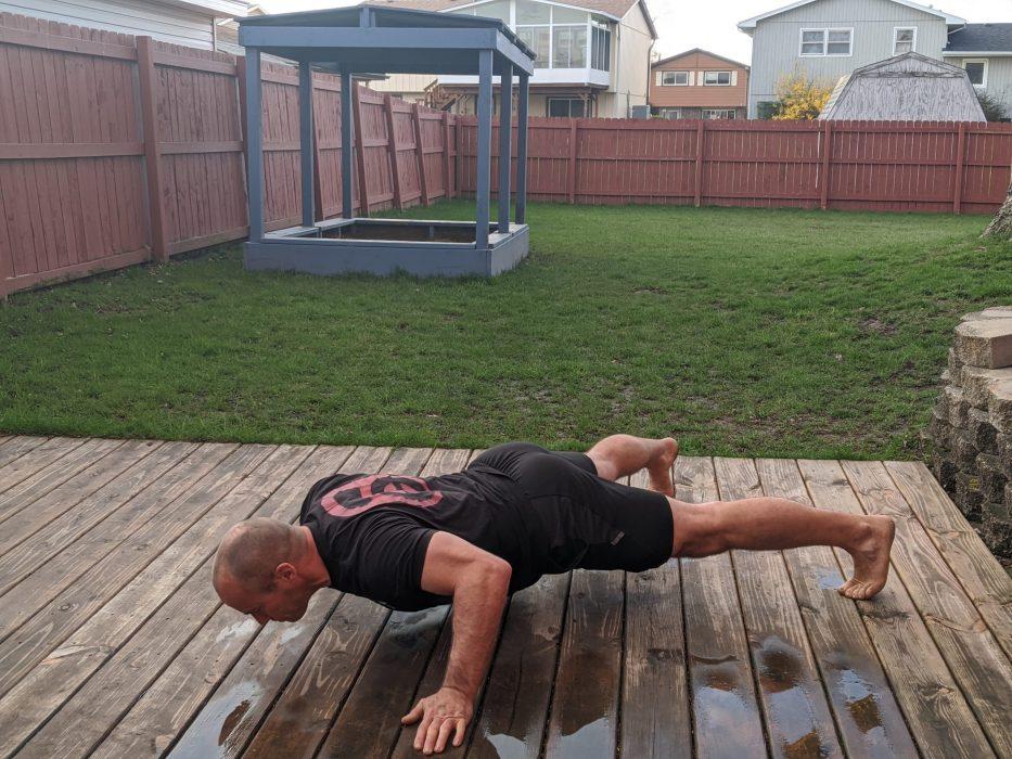 jumping jack push ups
