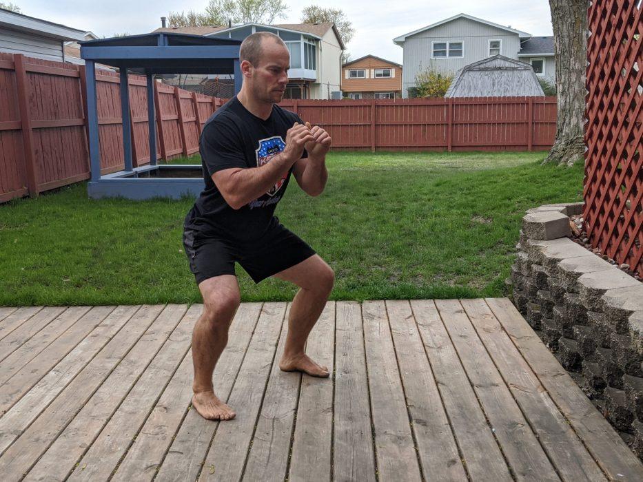 negative squat
