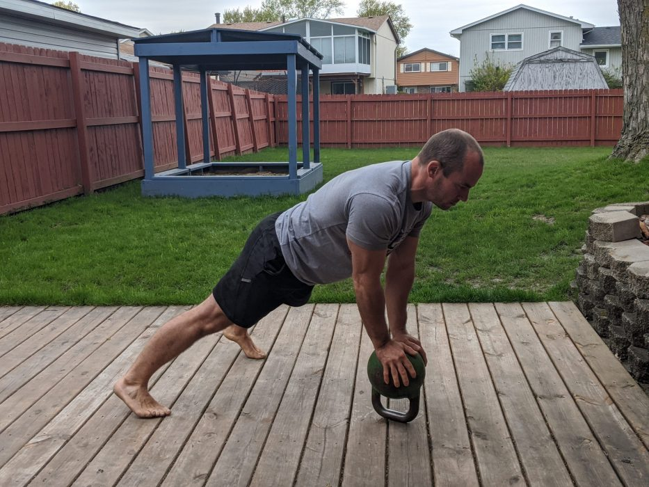 How To Do Bottoms Up Push Ups