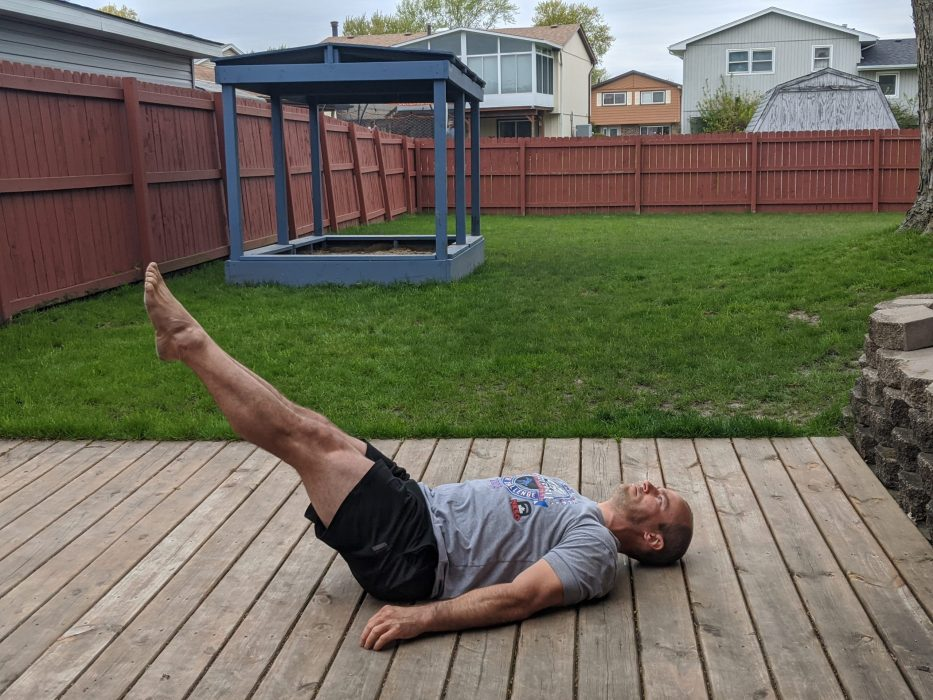 floor leg raises