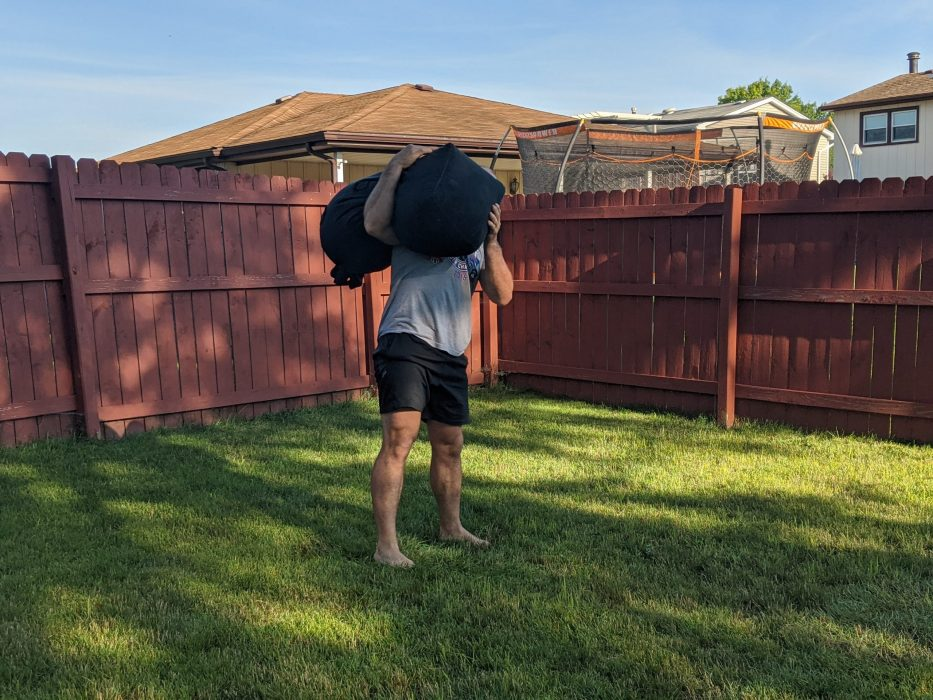 How To Do Sandbag Shouldering