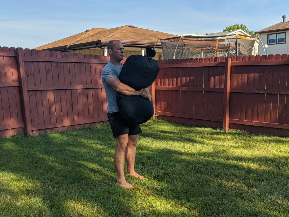 How To Do A Sandbag Carry