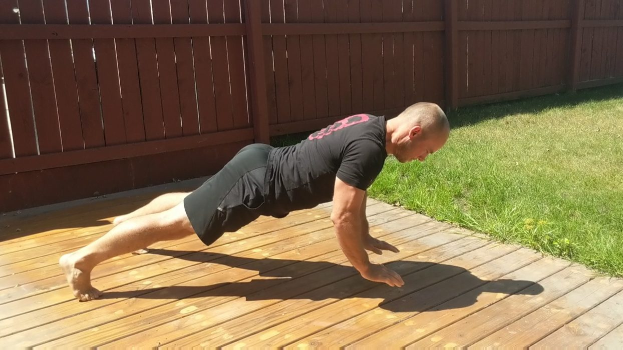 How To Do Power Push Ups